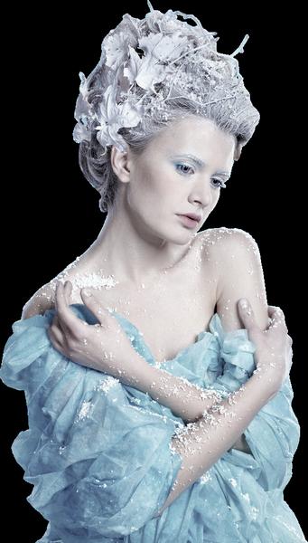 tube hiver femme ,paysage ect
